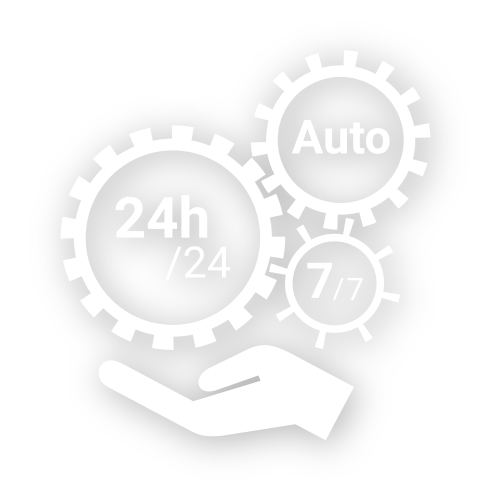 main - 24h sur 24h - 7 jours sur 7 - automatique
