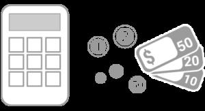 paiement - calculette