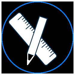 regle - stylo