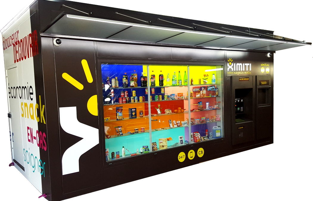 Neovendis unveils its kiosk under Ximiti brand