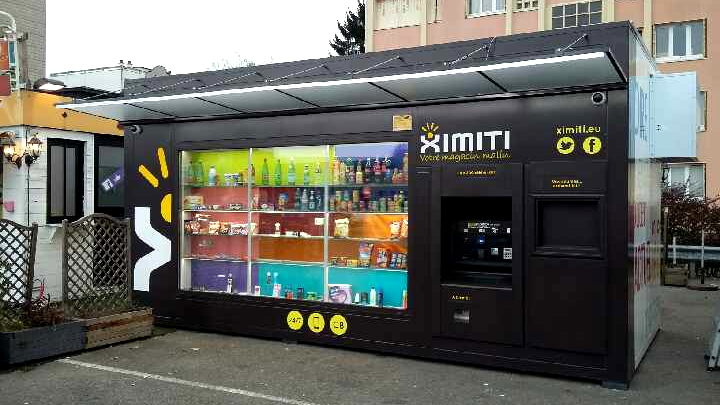 The first smart shop is born, named Ximiti!