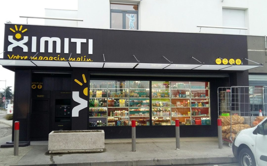 Ximiti en station TOTAL
